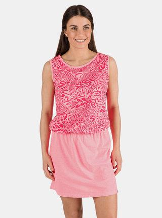 Ružové vzorované šaty SAM 73