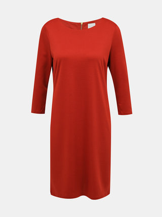 Cihlové šaty VILA
