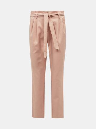 Svetloružové nohavice VILA