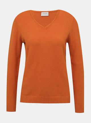 Oranžový sveter VILA
