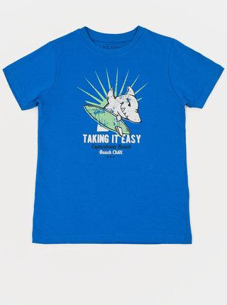 Modré klučičí tričko Blue Seven