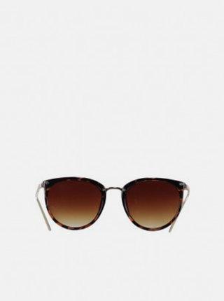 Hnedé slnečné okuliare Haily´s Beauty