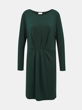 Tmavozelené šaty VILA