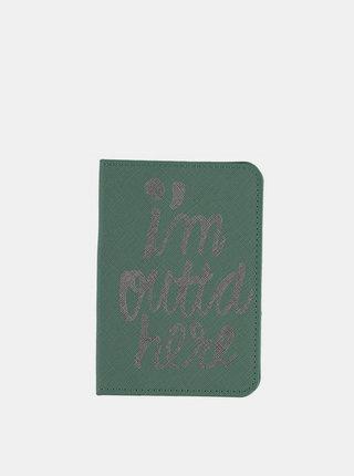Zelené pouzdro na pas Haily´s