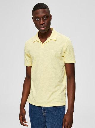 Žluté polo tričko Selected Homme Jared