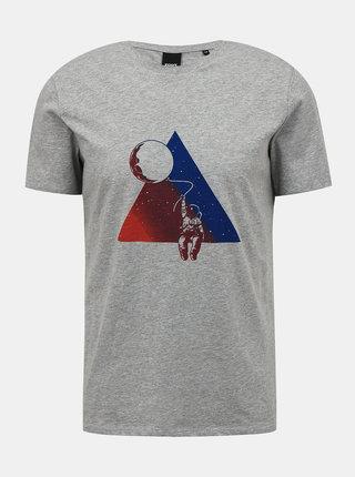 Šedé pánske tričko ZOOT Brody