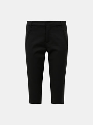 Černé 3/4 kalhoty VERO MODA