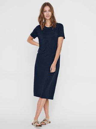 Tmavě modré šaty AWARE by VERO MODA Gava
