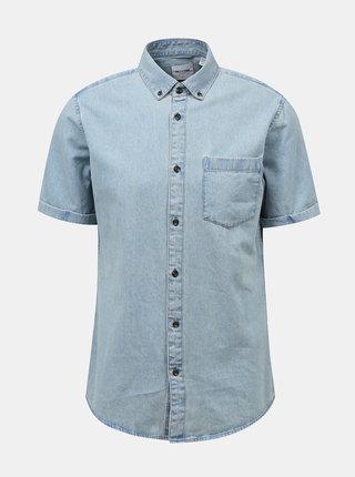 Svetlomodrá rifľová košeľa ONLY & SONS