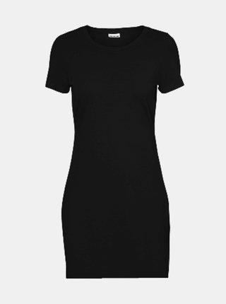 Černé basic šaty Noisy May Simma