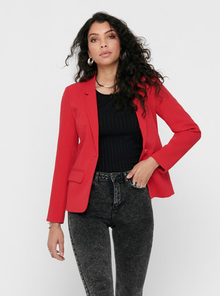 Červené sako ONLY Nico