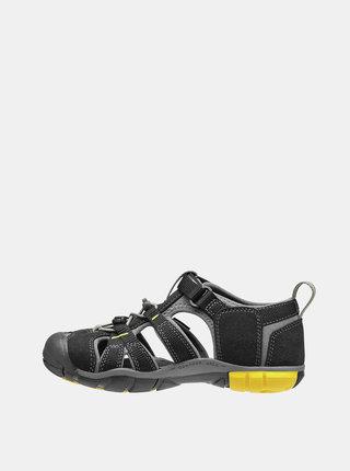 Černé dětské sandály Keen Seacamp II CNX K