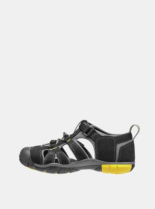 Černé dětské sandály Keen Seacamp II CNX Jr
