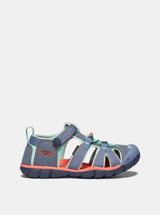 Modré dětské sandály Keen Seacamp II CNX C