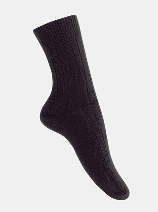 Sada dvoch párov čiernych ponožiek Marie Claire