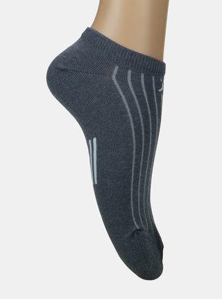 Šedé dámské kotníkové ponožky Marie Claire