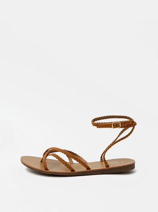 Hnedé sandále ONLY Maya