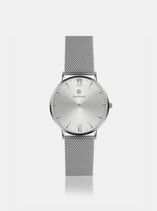 Dámske hodinky s nerezovým remienkom v striebornej farbe Paul McNeal