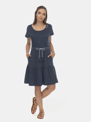 Modré šaty Ragwear