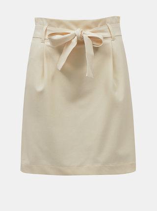 Krémová sukňa ONLY