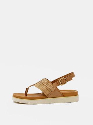 Hnedé dámske sandále Wrangler