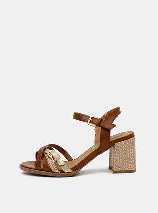 Hnedé dámske sandálky Wrangler