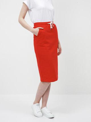 Červená basic sukňa ZOOT Baseline Vendelina