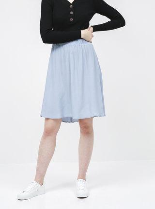 Svetlomodrá basic sukňa VILA Primera