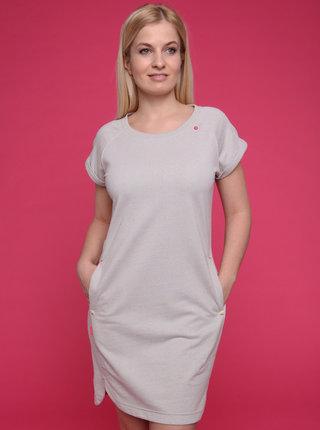 Svetlošedé dámske šaty LOAP Ebinka