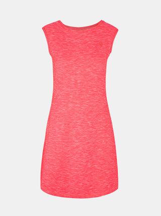 Růžové žíhané šaty LOAP Mamba