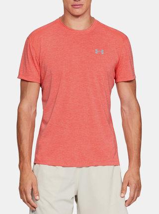 Oranžové pánské tričko Streaker Under Armour