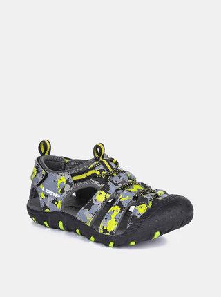 Šedé dětské sandály LOAP Dopey