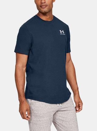 Tmavě modré pánské tričko Essential Under Armour