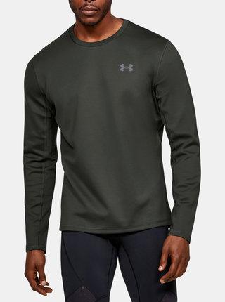 Tmavě zelené pánské tričko ColdGear Under Armour