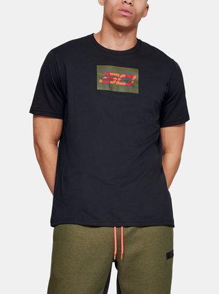 Černé pánské tričko Overlay Under Armour