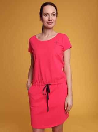 Růžové dámské šaty LOAP Banny