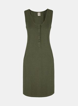 Zelené dámske šaty LOAP Nami