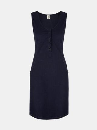 Tmavomodré dámske šaty LOAP Nami