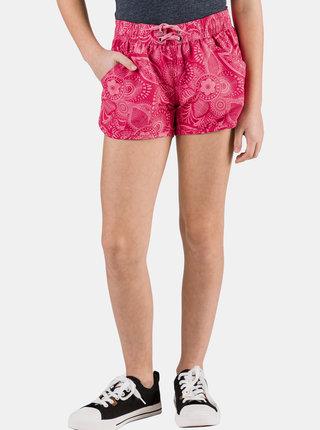 Růžové holčičí vzorované šortky SAM 73