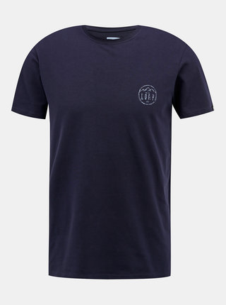 Tmavomodré pánske tričko LOAP Antti