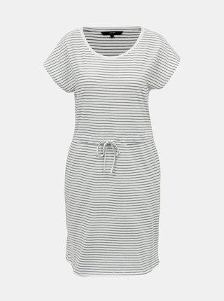 Modro-biele basic pruhované šaty Vero Moda April