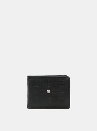 Černá pánská kožená peněženka Nugget