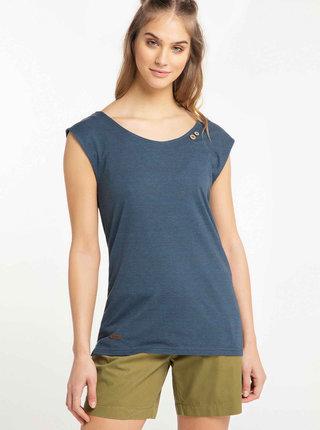 Tmavomodré dámske tričko Ragwear