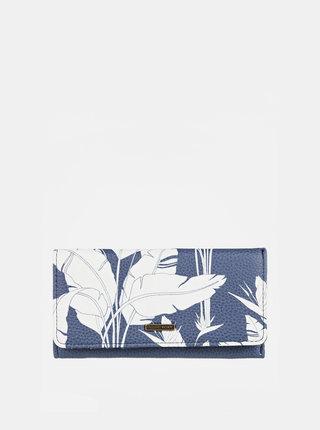 Modrá vzorovaná peněženka Roxy
