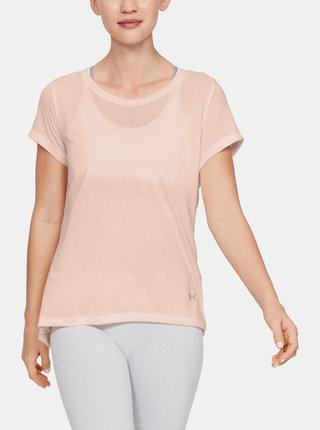 Oranžové dámské tričko Under Armour