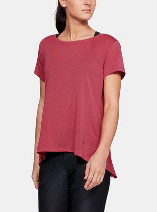 Růžové dámské tričko Under Armour
