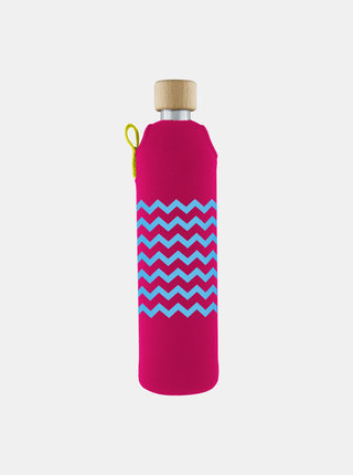Sklenená fľaša v neoprénovom obale Drinkit Heligonka 500 ml