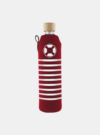 Sklenená fľaša v neoprénovom obale Drinkit Rozmarné léto 500 ml