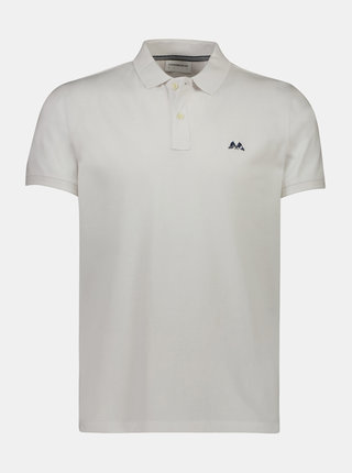 Bílé polo tričko Lindbergh