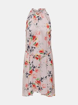 Růžové květované šaty Jacqueline de Yong